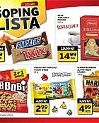 Tisak shopping lista ožujak 2015
