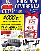 Mima namještaj katalog Pula