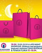 Tower centar Rijeka noćni shopping 18.4.