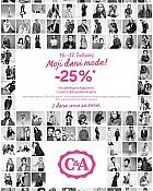 C&A akcija -25% popusta na sve!