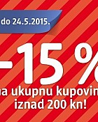 DM vikend akcija -15% na sve!