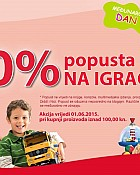 Muller akcija -20% na igračke