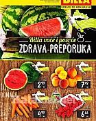 Billa katalog Voće i povrće srpanj 2015