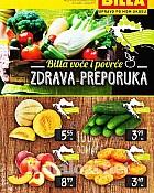 Billa katalog voće i povrće do 1.7.