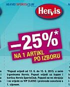Hervis vikend akcija kuponi do 15.6.