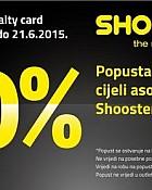 Shooster akcija -20% popusta na sve