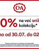 C&A -50% popusta na sniženu kolekciju
