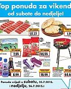 Kaufland vikend akcija do 26.7.
