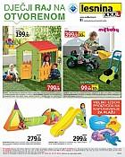 Lesnina katalog Igračke na otvorenome