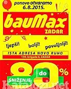 Baumax katalog Zadar otvorenje