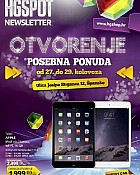 HGSpot katalog Špansko Zagreb otvorenje