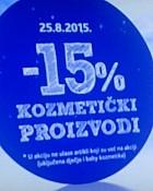 Konzum -15% sva kozmetika