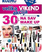 Kozmo vikend akcija na sav make up
