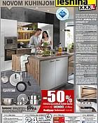 Lesnina katalog Kuhinje do 31.8.