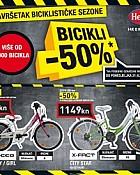 Hervis katalog Bicikli rasprodaja -50%