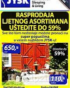 JYSK katalog Rasprodaja ljetnog asortimana