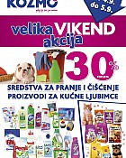 Kozmo velika vikend akcija do 5.9.