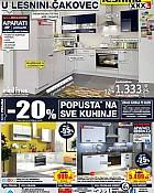 Lesnina katalog kuhinje Čakovec
