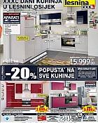 Lesnina katalog kuhinje Osijek