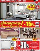 Lesnina katalog Shopping days