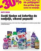 Bipa vikend akcija -30% čišćenje kućanstva