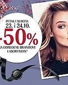 Douglas vikend akcija -50% na dio asortimana