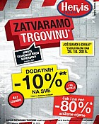 Hervis katalog Slavonski Brod do 25.10.
