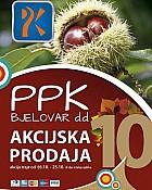 PPK Bjelovar katalog listopad 2015