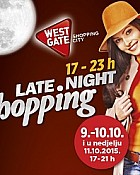 West Gate noćni shopping do 11.10.