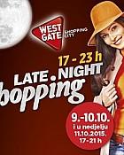 West Gate noćni shopping do 11.10.
