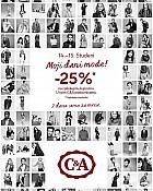 C&A Dani mode -25% na sve