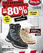Hervis katalog Rijeka rasprodaja do 80%