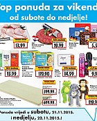 Kaufland vikend akcija do 22.11.