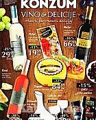 Konzum katalog Vino i delicije