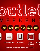 Technomarket outlet vikend akcija