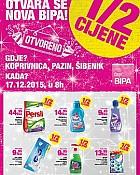 Bipa katalog Koprivnica, Pazin, Šibenik