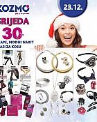 Kozmo srijeda -30% popusta nakit, čarape, ukrasi za kosu