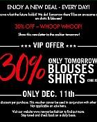 New Yorker 30% popusta na bluze i košulje