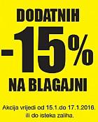 Emmezeta vikend akcija dodatnih -15% popusta