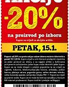Konzum kupon -20% popusta