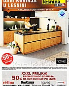 Lesnina katalog Dani kuhinja do 8.2.