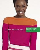 Benetton katalog proljeće 2016 žene