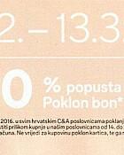 C&A kupon sa 20% popusta
