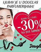 Douglas akcija parfemi -30% popusta