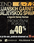 Harvey Norman vikend akcija do 7.2.