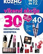 Kozmo vikend akcija dekorativna kozmetika