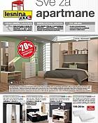 Lesnina katalog Namještaj za apartmane 2016