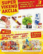 Billa vikend akcija do 26.3.