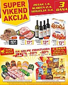 Billa vikend akcija do 3.4.
