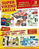 Billa vikend akcija do 6.3.
